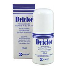 Driclor Antiperspirant Lotion Roll on 60ml
