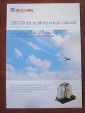DEPLIANT AIR LIQUIDE ON BOARD OXYGEN GENERATING SYSTEM MILITARY CARGO A400M