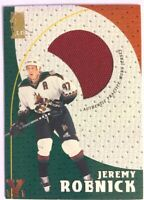 1998-99 Be A Player Playoff Practice Used Jersey Jeremy Roenick Vault Copper 1/1