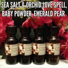 Clean & Fresh Fragrance Burning Oils  Asst Set of 4 1/2oz
