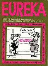 EUREKA n. 26 - EDITORIALE CORNO - DICEMBRE 1969