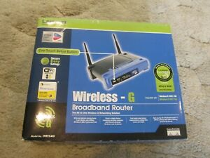 Linksys Wireless G Broadband Router Model WRT54G Excellent Condition