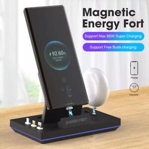 Magnetic Charging Dock Desktop Charger For Samsung Galaxy S20 Ultra/ S20+/Buds+