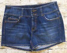 London Jean Denim Casual Short Shorts Women's Size 8