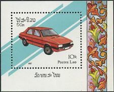 LAOS Bloc N°95 ** Bf   Automobile, Talbot, TB, 1987, car Sheet Sc# 804 M