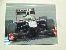 BRUNNO SENNA Formel 1 In-Person signed Foto 20x25 Autogramm