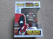 Funko - POP Marvel: Marvel Zombies- Deadpool Brand New In Box