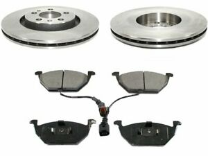 Front Pronto Brake Pad and Rotor Kit fits VW Beetle 1998-2006 86MDYJ