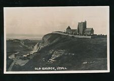 Somerset Weston-super-Mare UPHILL Quarry workings 1933 RP PPC