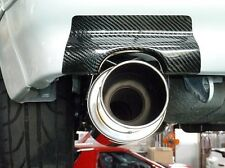 89-92 MAZDA RX-7 RX7 FC REAR EXHAUST CARBON FIBER HEAT SHIEID COVER LEFT & RIGHT