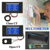 100A AC Digital Display Power Monitor Meter Voltmeter Current Ammeter Frequ X9N5