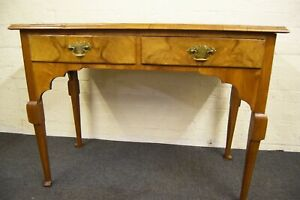 18th century walnut writing desk side table