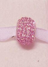 Adorare Charm - Pink - Frederic Strass Sterling Silver & Swarovski Crystal