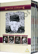 The Agatha Christie Miss Marple Collection Murder She Said 4 DVD Film Boxset New