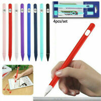 Fit For Apple iPad Pencil 1st Generation Silicone Grip Case Cover Pen Protector