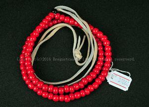 Whitehearts Glaze Beads Chain 259mm for Goro's