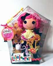 NEW Lalaloopsy CRUMBS SUGAR COOKIE Rare Doll Original Retired w Pet Mouse