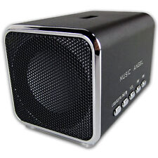 stereo Mini Lautsprecher Music Angel 2 X 3 watt schwarz