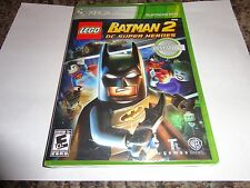 LEGO Batman 2: DC Super Heroes  (Xbox 360, 2012) NEW