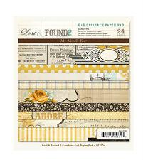 "My Mind's Eye  LF2104  ""Sunshine ""  Designer Paper Pad 24  Sheets NEW"