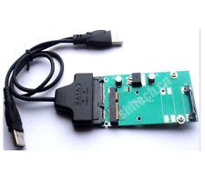 Sintech USB SATA cable+intel Samsung mSATA 3x7cm SSD to SATA Adapter +driver
