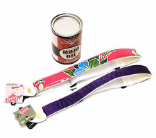 Fender® Guitar Mojo Can w/ (2) LM Alexis Guitar Straps Hawaii & Satin Xmas Gift
