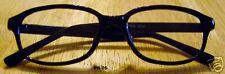Brand NEW Reading Glasses SHINY BLACK Plastic Acrylic Frame +2.25 Free Shipping