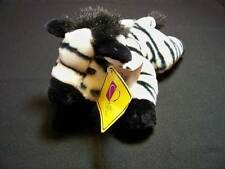 "KOHLS CARES FOR KIDS Zebra Plush 13"" Stuffed Animal Lying Down Tags Attached"