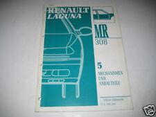 Werkstatthandbuch Renault Laguna Anbauteile, 1993
