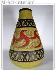 SGRAFFITO Keramik Vase Volcano-Glasur Emons & Söhne Rheinbach 60er vintage