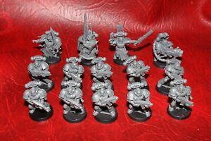 Warhammer 40k  Dark Angels squadron x 14 (plastic) Unpainted Dark Vengeance