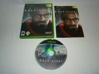 Xbox Half-Life 2 game complete w/ case & manual, 2005 Valve, tested working