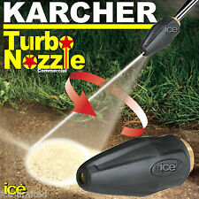 KARCHER COMMERCIAL TURBO NOZZLE ROTARY SPINNING OSCILLATING DIRTBLASTER HD HDS