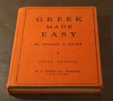 Greek Made Easy by George C. Divry Vintage
