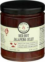 FISCHER & WIESER, JELLY JALAPENO RED HOT, 10.9 OZ, (Pack of 6)