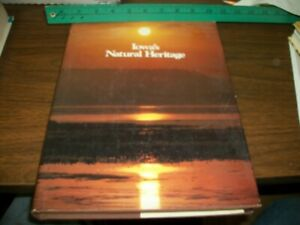 Iowa's Natural Heritage Hardcover 325+ Page Book 1982