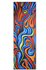 150cm x 50cm  art painting ocean fire dream  print abstract  canvas aboriginal