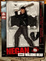"""The Walking Dead Negan Deluxe 10-Inch Action Figure with Bat """"Lucille"""" SEALED"""