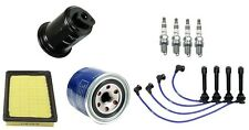 Tune Up Kit Filters Spark Plugs NGK Wire Set For Hyundai Elantra 99-06 L4 2.0L