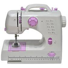 Keimav 10-Stitch Household Mini Sewing Machine (White/Pink)