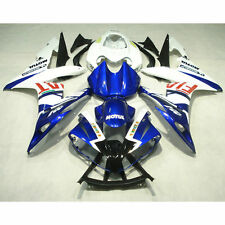 Injection Molded Fairing Set For YAMAHA YZF R1 YZF-R1 2004-2006 05 Blue White
