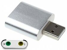 Top-più USB AUDIO/adattatore audio con altoparlante 3.5mm/cuffie e microfono