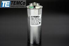 TEMCo 50+5 uf/MFD 370-440 VAC volts Round Dual Run Capacitor 50/60 Hz -Lot-1