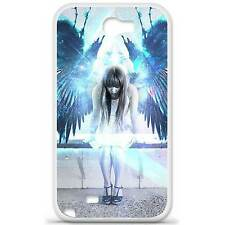 Coque housse étui tpu gel motif angel Samsung Galaxy Note 2 N7100