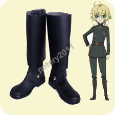 Saga Of Tanya The Evil Cosplay Shoes Youjo Senki Tanya Von Degurechaff Boots