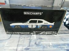 FORD Capri RS3100 MKI Breitbau DRM #3 Ludwig 1975 Hockenheim Win Minichamps 1:18