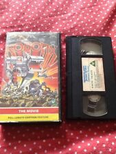 Robotix  - VHS Pre Cert Int  (upto 4 Tapes Posted £3.95)