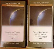 The Great Courses: Superstring Theory: The DNA of Reality 4 DVD Set Guidebooks