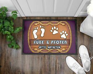 Fußmatte Schmutzfangmatte Türmatte Hund Dog Hundebesitzer Hunderasse Geschenk