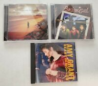 Lot of 3 Christian music CDs Amy Grant Barlow Girl and Seven Places